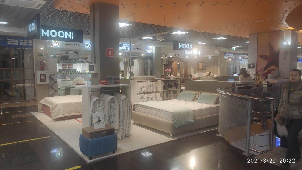 Ремонт магазина кроватей MOON в ТЦ Формат